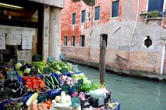 """And as it reads on the front window of a vegetarian restaurant in Barcelona, """"Organic is orgasmic"""". VENICE IS JUST SO DELICIOUS! All About Italy, Italian Market, Online Travel, Most Beautiful Cities, Daily Photo, Great Pictures, Places To Travel, Vegetarian, Organic"""