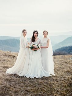 Fine Art Wedding Dresses - Cathy Telle