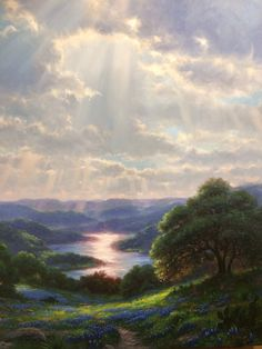 Heart of Texas - Mark Keathley Country Bears, Landscape Paintings, Landscapes, Rocky Mountains, Make Me Smile, Heaven, Creative, Water, Artist