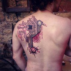Circuit Tattoo Designs (36)