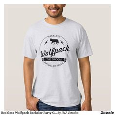 Reckless Wolfpack Bachelor Party Groomsmen Names