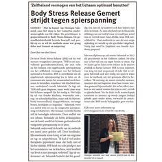 Body Stress Release praktijk Gemert strijdt tegen spierspanning. www.bsrgemert.nl
