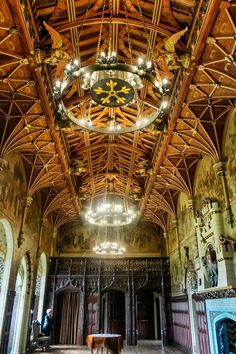 Castle Halls, Wales, UK (2013 Trip)