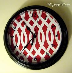 Clock makeover -- need to do to the second wall clock