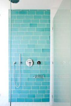 Muir Beach shower - modern - bathroom tile - other metro - by Island Stone by rosalyn
