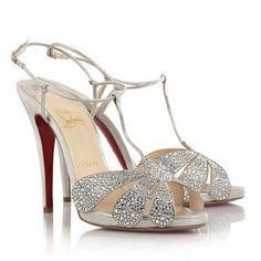Christian Louboutin Shoes – Blue Sole Wedding Shoes