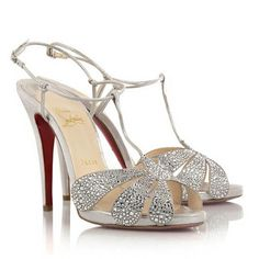 Christian Louboutin Shoes – Blue Sole Wedding Shoes