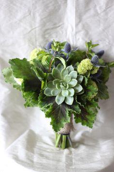 Fleur:ology Rustic Green Bouquet