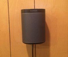 Sonos Play 1 Wall Mount Sonos Play 1, Sonos One, Diy Wall, Wall Mount, My Design