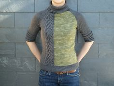 Ravelry: Project Gallery for #22 Raglan Sleeve Pullover pattern by Laura Zukaite