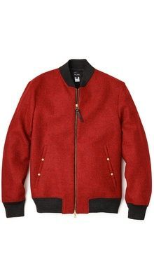 check!! but i dont mind the red!! Chaqueta De Piloto De Lana b7111a48c17ac