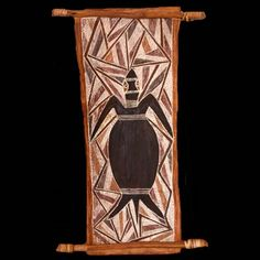 Turtle by Artist unknown   Exhibition - Bark Paintings 1930-2000 ...