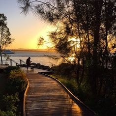 A magical sunset over 1770 in Did you know that 1770 is built on the the second landing site of Captain James Cook. Queensland Australia, Australia Travel, James Cook, Adventure Holiday, Gladstone, Camping And Hiking, Great Barrier Reef, Landing, National Parks