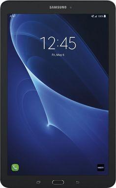 "Samsung - Galaxy Tab E - 8"" - 16GB - Wi-Fi + 4G LTE At&t, SM-T377AZKAATT"