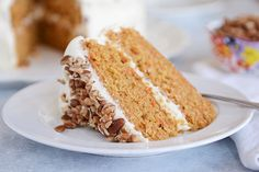 This is hands-down the best carrot cake ever! Simple to make, this delicious carrot cake with cream cheese frosting is soft, tender and so moist!