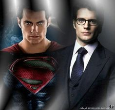 Man of Steel/Clark Kent :) How in the world could anyone not notice the resemblance...I mean he is so beautiful...how could you forget this face?