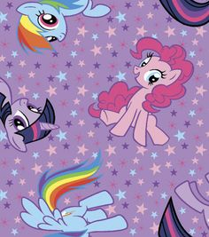 Hasbro My Little Pony Cotton Fabric