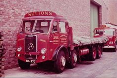 Vintage Trucks, Old Trucks, Classic Trucks, Classic Cars, Old Lorries, Road Transport, Heavy Machinery, Train Car, Commercial Vehicle