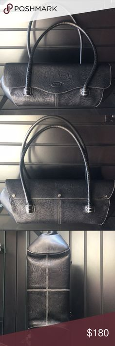 Authentic Tods Black Leather Purse Black leather authentic Tods brand purse . Tod's Bags Shoulder Bags