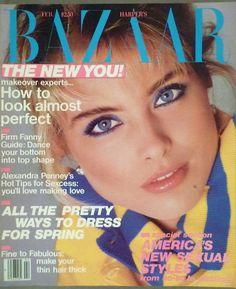 Kim Alexis, Harper's Bazaar, February 1985