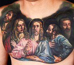 Tattoo Artist - Nikko Hurtado | www.worldtattoogallery.com/chest_tattoos