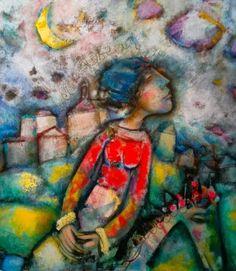Splashes in the World: The illustrations of Alvaro Reja: dreamlike realism Artist Names, All Art, Illustration, Painting, Art Rooms, Graphic Art, Paintings, Illustrations, Artists