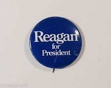 Reagan for President Political Campaign Pin Button Low Shipping