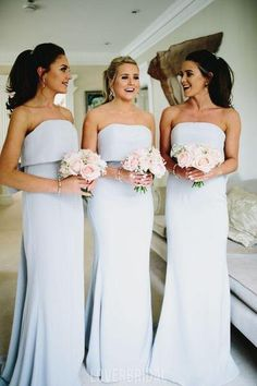 Apr 2020 - Simple Strapless Grey Cheap Long Bridesmaid Dresses Online, – LoverBridal Burgundy Homecoming Dresses, Grey Bridesmaids, Beautiful Bridesmaid Dresses, Bridesmaid Dresses Online, Wedding Bridesmaid Dresses, Wedding Gowns, Bridal Gown, Grey Blue Bridesmaid Dresses, Wedding Bouquets