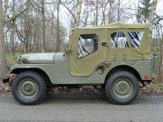 Nekaf M38A1 Willys Jeep Cabriolet - 1956