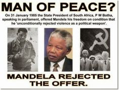 Mandela's a human hero,' Farage responded. 'That day he came out of Robben Island and stood there and forgave everybody, I just thought: 'This is Jesus.' I don't regard him as a political hero – I think he's on a rather higher plane than that. Man Of Peace, South African Flag, Apartheid, States In America, United We Stand, The Ugly Truth, The Secret History, Nelson Mandela, This Or That Questions