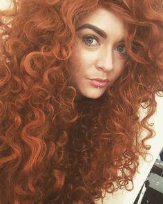 Merida. #fashion #style #wig #unicorn #selfie @lush_wigs by laurenjeanettewhite