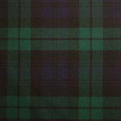 Black Watch Modern Heavy Weight Tartan - Lochcarron of Scotland