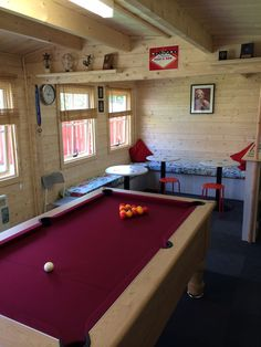 Trendy Table Games For Teens Children Ideas Outdoor Pool Table, Backyard Bar, Backyard Sheds, Man Cave Shed, Man Cave Home Bar, Garage Game Rooms, Garage Bar, Mini Shed, Garden Bar Shed