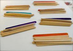 Fractions made easy with popsicle sticks