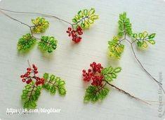 Цветы из бисера (Мастер-классы)