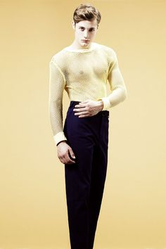 Steven Chevrin in 'Caleidoscopic Skin' by Javi Dardo for Fashionisto Exclusive    Coll See-Through Shirt