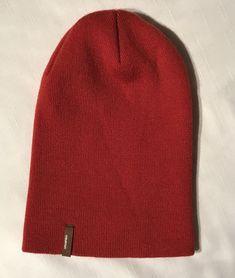 Unisex Accessories · Burton Unisex One Size Fits All Beanie Stretch Knit  Cap Chute Hat Deep Orange  fashion 1a4658be51be