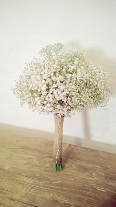 Rustic/Vintage bridal bouquet, Baby's Breath cloud by Moss Nest, Berry, NSW.Australia. #vintage  #wedding bouquets