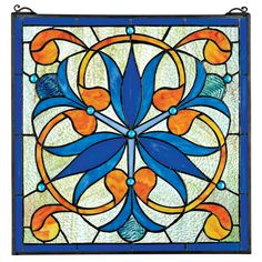Mokara-Orchid-Trefoil-Floral-Stained-Glass-Window-TF26647.jpg (1500×1500)