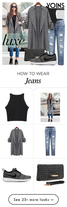 """Yoins 2/1"" by never-alone on Polyvore featuring NIKE, MustHave, fall2015 and yoins"