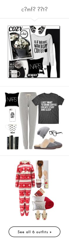 """cσmfч ѕєtѕ"" by booknerd1326 ❤ liked on Polyvore featuring Boohoo, Sylvia Alexander, UGG, Bula, Perpetual Shade, Monster, cozy, holiday, holidaystyle and cozychic"