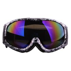 Let's look at this sort of cool and fashionable #goggles.If you go out for camping, this one can perfectly protect your eye.And colorful lens can absorb ultraviolet light and infrared ray.Several colors for selection. Do not hesitate to have one.>>>>> http://www.tomtop.cc/RNnYnm