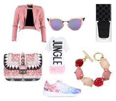 """#outfit#setbyfranerli"" by fra-nerli on Polyvore featuring FRACOMINA, NIKE, Valentino, Fendi, Oscar de la Renta and Gucci"