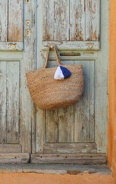 #terreetmer #nice #frenchriviera French Riviera, Straw Bag, Nice, Bags, Surf And Turf, Basket, Handbags, Totes, Lv Bags