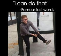 I cannot tell you how many times guys have tried to do arabesques and splits and ended up getting injured>>> I liked how they used Tyler Oakley in the picture Dance Memes, Dance Humor, Dance Quotes, Ballet Quotes, Tap Dance, Just Dance, Dance Pictures, Dance Pics, Dance Stuff