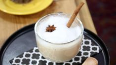 Made with cinnamon, star anise, cloves, cardamom and ginger, this masala chai is a deliciously comforting fall drink. Star Anise Tea, Black Tea Leaves, Black Tea Bags, Tea Biscuits, Masala Chai, Fall Drinks, Cinnamon Sticks, Holiday Recipes, Smoothies