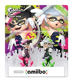 nice Nintendo Callie & Marie 2-Pack amiibo - Nintendo Wii U