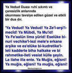 SIKINTI ve caresizlik anlarinda okunacak dua. Allah Islam, Sufi, S Word, Successful People, Quran, Prayers, Faith, Sayings, Quotes