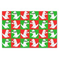Christmas lights dog tissue paper by SPKCreative Stationery and Gifts will make you howl with joy and mirth.