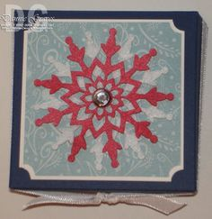 stampin up felt flurries - Google Search